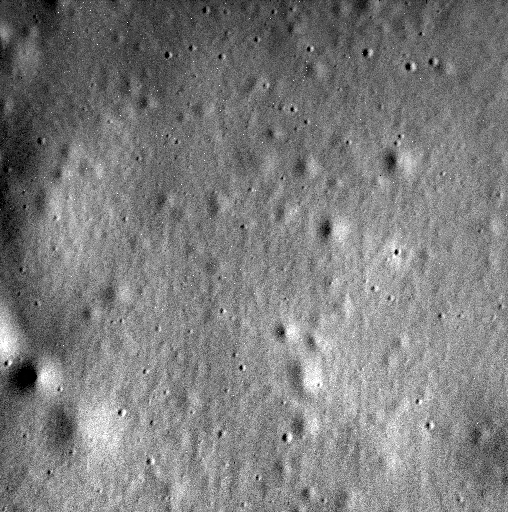 MESSENGER's last image before impact