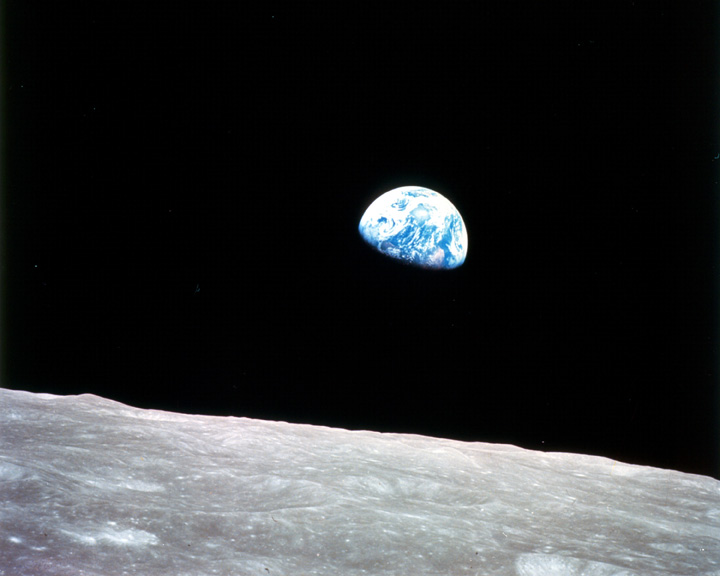 Earthrise, 24 December 1968