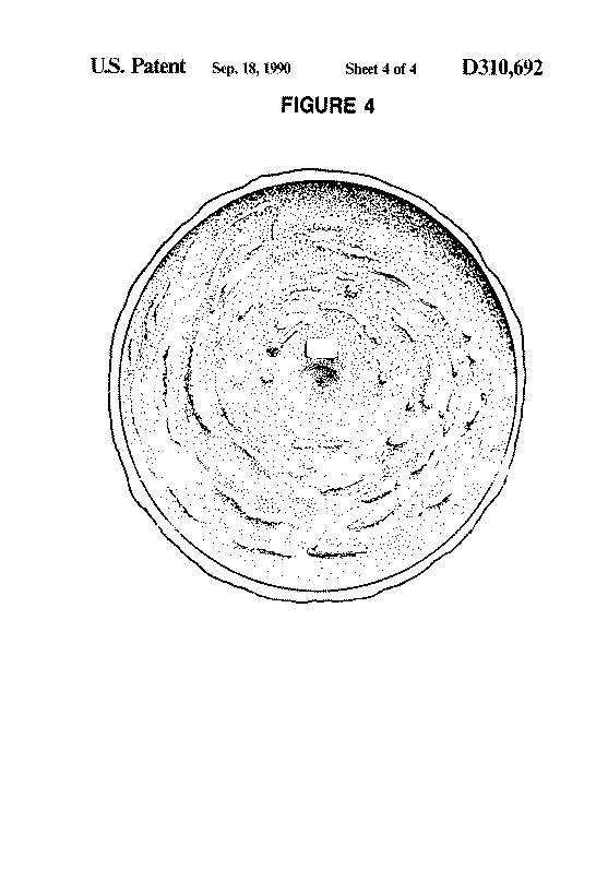 US Patent D310692
