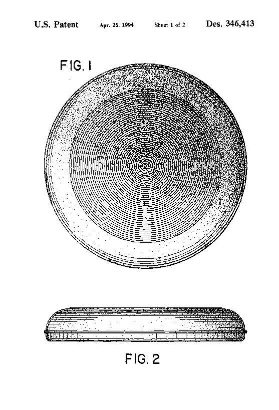 US Patent <empty>D346413