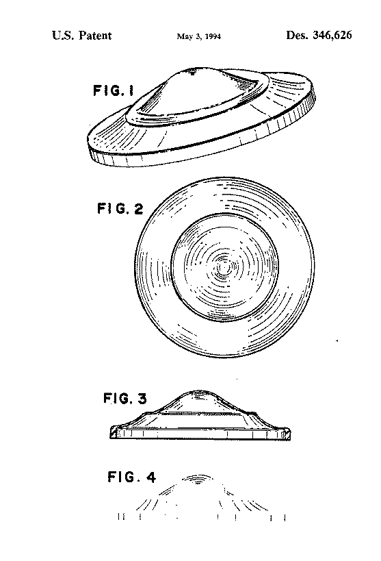 US Patent D346626