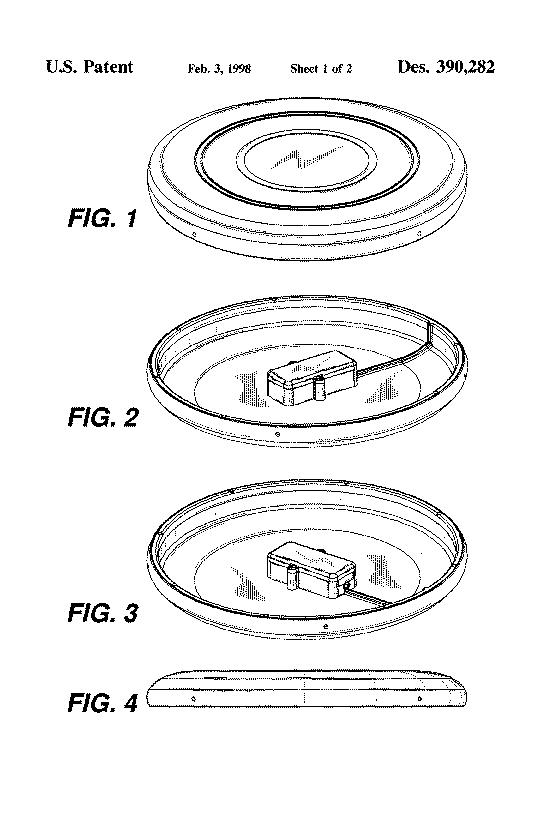 US Patent D390282
