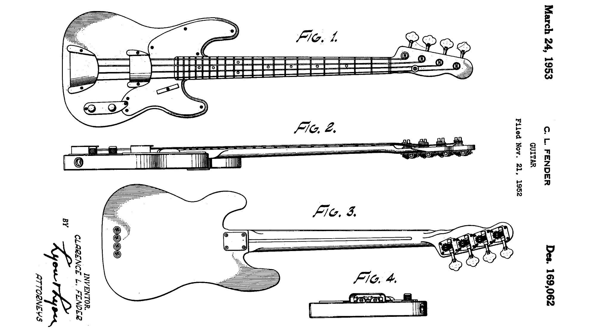 Stratocaster Design Patent