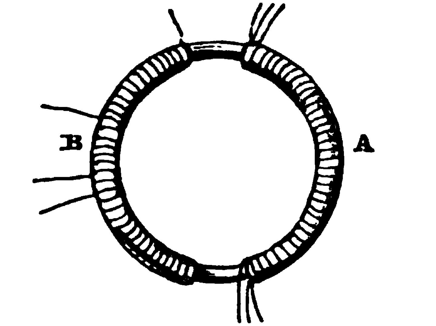 Drawing of Faraday's Apparatus
