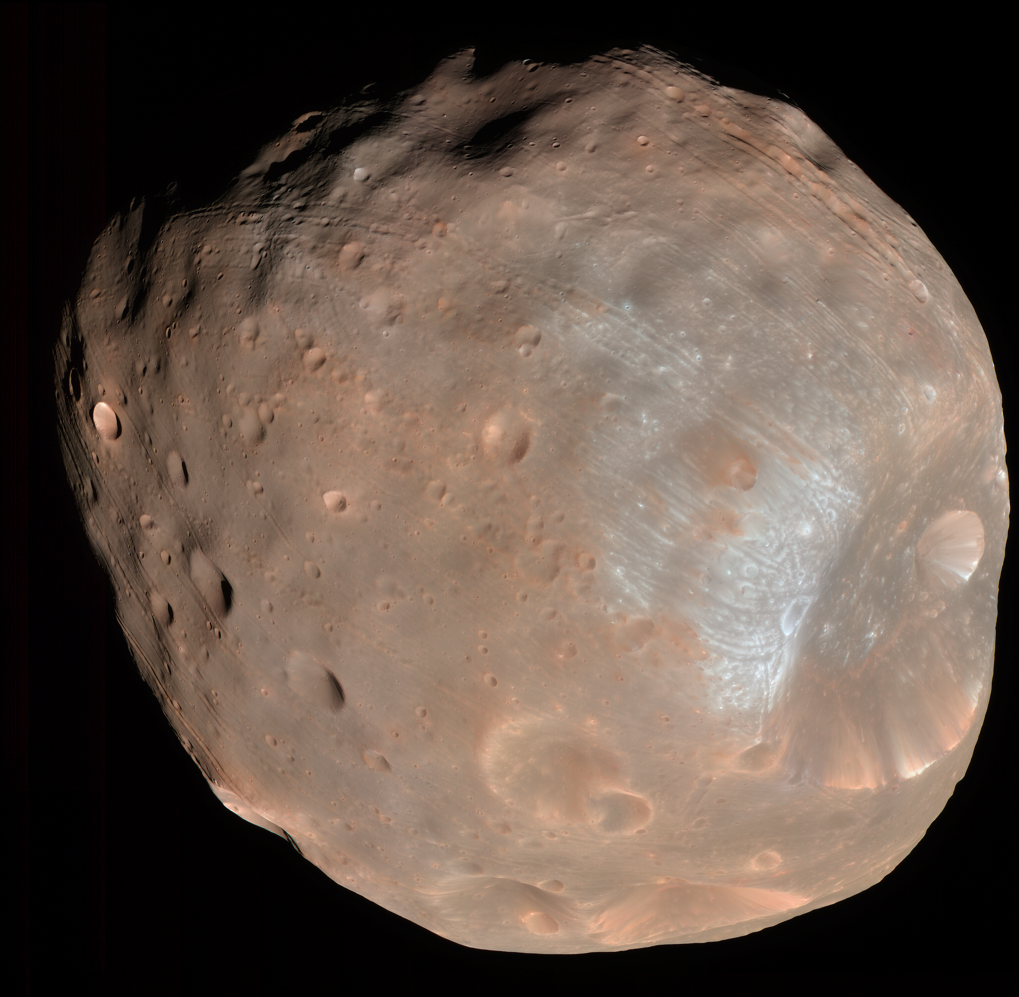 HiRes photo of Phobos